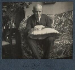 Hugh Richard Heathcote Gascoyne-Cecil, Baron Quickswood, by Lady Ottoline Morrell - NPG Ax142193