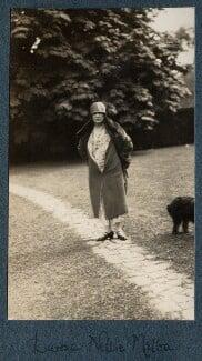Nellie Melba, by Lady Ottoline Morrell - NPG Ax142195