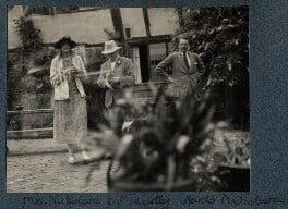 Vita Sackville-West; Sir Desmond MacCarthy; Harold Nicolson, by Lady Ottoline Morrell - NPG Ax142211