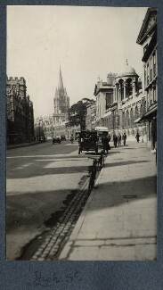 'High Street', by Lady Ottoline Morrell - NPG Ax142263