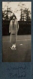 Winifred Anna (née Dallas-Yorke), Duchess of Portland, by Lady Ottoline Morrell - NPG Ax142328