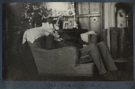Arthur James Balfour, 1st Earl of Balfour, by Lady Ottoline Morrell - NPG Ax142332