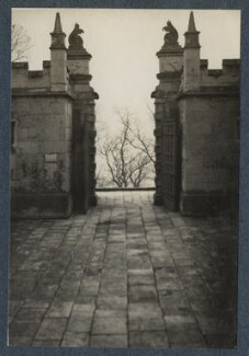 'Bolsover Castle', by Lady Ottoline Morrell - NPG Ax142340