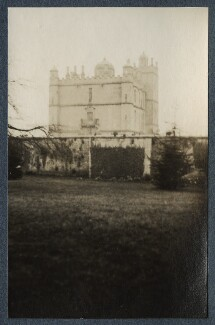 'Bolsover Castle', by Lady Ottoline Morrell - NPG Ax142341