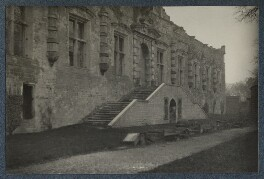 'Bolsover Castle: King Charles Banqueting Hall', by Lady Ottoline Morrell - NPG Ax142345