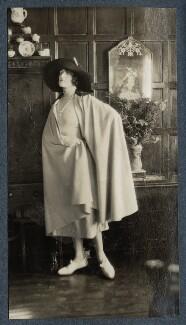 Lady Ottoline Morrell, by Lady Ottoline Morrell - NPG Ax142367