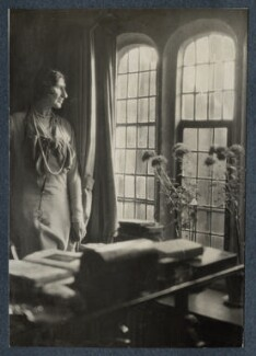 Lady Ottoline Morrell, by Lady Ottoline Morrell - NPG Ax142369