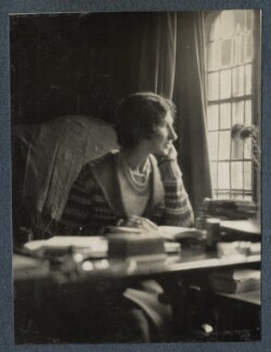Lady Ottoline Morrell, by Lady Ottoline Morrell - NPG Ax142375
