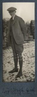 Hugh Richard Heathcote Gascoyne-Cecil, Baron Quickswood, by Lady Ottoline Morrell - NPG Ax142386