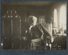 Bertrand Arthur William Russell, 3rd Earl Russell, by Lady Ottoline Morrell - NPG Ax142388