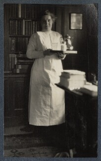 Millie Ellis, by Lady Ottoline Morrell - NPG Ax142395