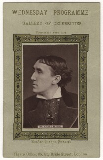 Sir Henry Irving, by Fradelle & Leach, published by  Figaro Office - NPG x17932