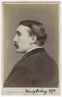 Sir Henry Irving, by London Stereoscopic & Photographic Company - NPG Ax18153
