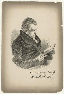 Henry Clutterbuck, by C. Measom, after  Unknown artist - NPG D21123