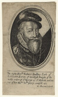 Robert Dudley, 1st Earl of Leicester, by William Marshall - NPG D21140