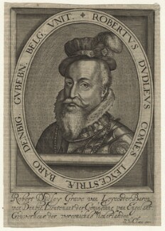 Robert Dudley, 1st Earl of Leicester, published by Nicolas de Clerck - NPG D21151