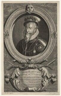 Robert Dudley, 1st Earl of Leicester, by Cornelis Martinus Vermeulen, after  Adriaen van der Werff - NPG D21153