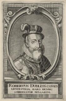 Robert Dudley, 1st Earl of Leicester, by A. Dischler - NPG D21147