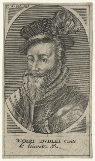 Robert Dudley, 1st Earl of Leicester, by Unknown artist - NPG D21156
