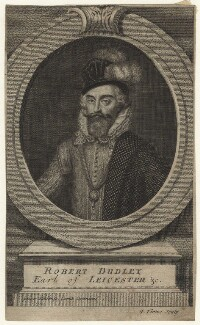 Robert Dudley, 1st Earl of Leicester, by George Vertue - NPG D21157