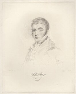Robert William Hay, by Frederick Christian Lewis Sr, after  Joseph Slater - NPG D20635