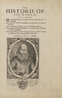 Sir Walter Ralegh (Raleigh) (Raleigh), by Simon de Passe, published by  Compton Holland - NPG D21168