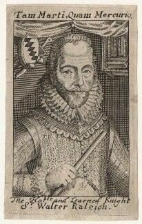 Sir Walter Ralegh (Raleigh), after Simon de Passe, (1617) - NPG D21173 - © National Portrait Gallery, London