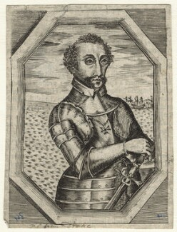 Possibly Sir Francis Drake, by Unknown engraver, 17th century? - NPG D21177 - © National Portrait Gallery, London