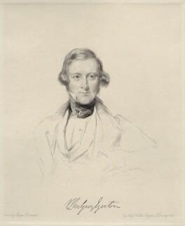 Sir Philip de Malpas Grey-Egerton, 10th Bt, by Frederick Christian Lewis Sr, after  George Richmond - NPG D20647