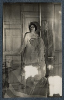 Lady Ottoline Morrell; Philip Edward Morrell, by Lady Ottoline Morrell - NPG Ax142405