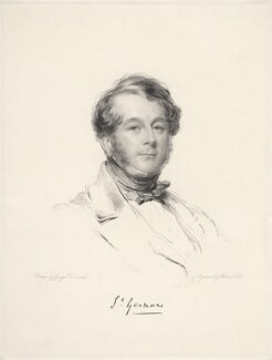 Edward Granville Eliot, 3rd Earl of St Germans, by William Holl Jr, after  George Richmond - NPG D20648