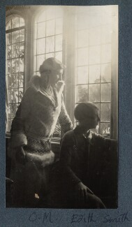 Lady Ottoline Morrell; Hon. Edith Mabell Emily Smith, by Lady Ottoline Morrell - NPG Ax142408