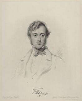 Sir Thomas Dyke Acland, 11th Bt, by Frederick Christian Lewis Sr, after  George Richmond - NPG D20649