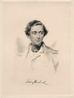 Sidney Herbert, 1st Baron Herbert of Lea, by William Holl Jr, after  George Richmond, (1847) - NPG D20654 - © National Portrait Gallery, London