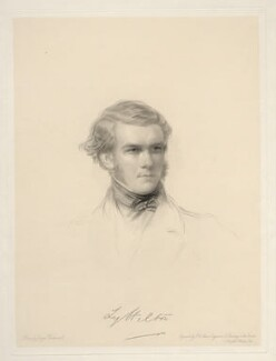 George William Lyttelton, 4th Baron Lyttelton, by Frederick Christian Lewis Sr, after  George Richmond - NPG D20655