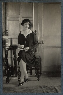 Delphine Marguerite Turner (née Dubuis), by Lady Ottoline Morrell - NPG Ax142429