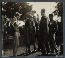 Kyrle Leng; Elizabeth Theresa Frances Courtauld (née Kelsey); Samuel Courtauld; Igor Vinogradoff; Bob Gathorne-Hardy, by Lady Ottoline Morrell - NPG Ax142488