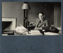 T.S. Eliot, by Henry Ware Eliot - NPG Ax142531