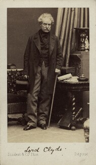 Colin Campbell, 1st Baron Clyde, by Disdéri, early 1860s - NPG Ax16229 - © National Portrait Gallery, London