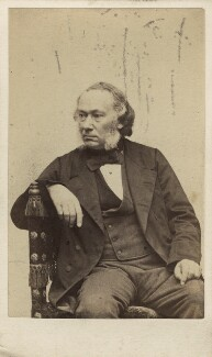 Richard Cobden, by C.A. Duval & Co (Charles Allen Du Val) - NPG Ax16232