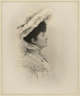 Priscilla Cecilia (née Moore), Countess Annesley, by Elliott & Fry, 1903 - NPG x127403 - © National Portrait Gallery, London