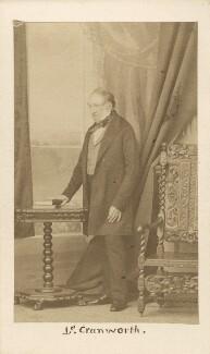 Robert Monsey Rolfe, Baron Cranworth, by Caldesi, Blanford & Co - NPG Ax16237