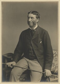 Matthew Arnold, by Elliott & Fry - NPG x127404