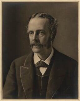 Arthur James Balfour, 1st Earl of Balfour, by Elliott & Fry, 1889 - NPG x127405 - © National Portrait Gallery, London