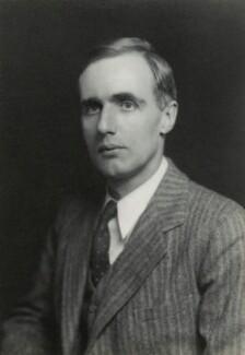 Sir Edward Crisp Bullard, by Walter Stoneman - NPG x390