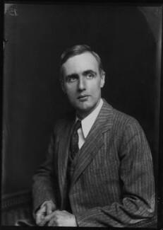 Sir Edward Crisp Bullard, by Walter Stoneman - NPG x391