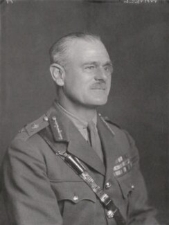 Archibald Percival Wavell, 1st Earl Wavell, by Walter Stoneman - NPG x528
