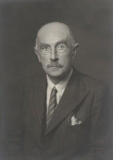 Sir (William) Arthur Robinson, by Walter Stoneman - NPG x9419