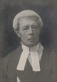Sir Horace Edmund Avory, by Walter Stoneman - NPG x19964