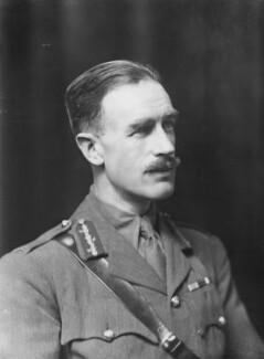 Sir (Ernest) Richard Fitzpatrick, by Walter Stoneman - NPG x20714